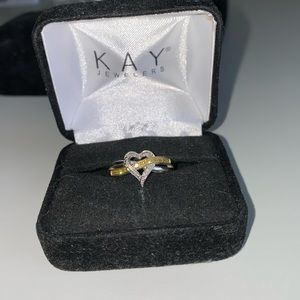 Kay Diamond Heart Ring